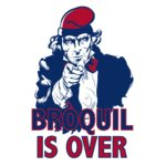 THE BROQUIL IS OVER