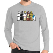 Star Wars Family - Camiseta Manga Larga