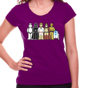 Star Wars Family - Camiseta Chica