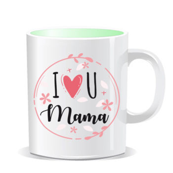 I Love you mama - Tazas Personalizadas Color Interior Thumbnail