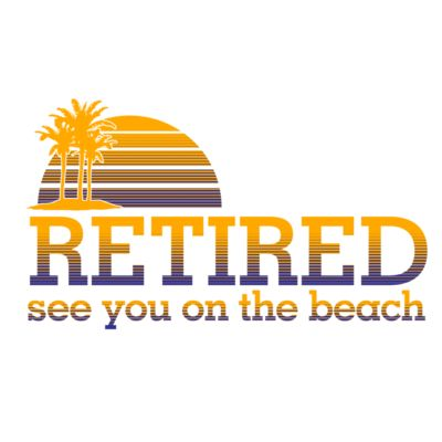 Retired see you On the beach Thumbnail